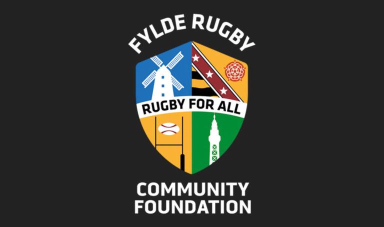 shield for fylde rugby - community foundation