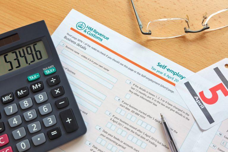 Self employment tax form